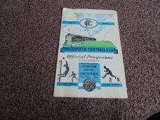 Chesterfield v Tranmere Rovers, 1955/56